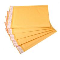 poly geschenk taschen großhandel-Großhandels- viele Größe Kraft Poly Blase gepolstert Umschlag Poly Mailer Handwerk Papier Versand Pad Umschlag Versandtasche Geschenk Verpackung