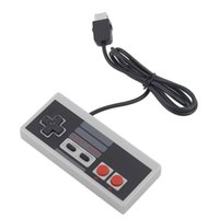 Wholesale 1 m Wired Retro Style Gaming Controller For NES Classic Edition For Mini Nes Console Gamepad JoyStick DHL FEDEX