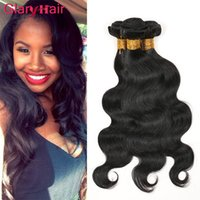 Wholesale Brazilian Virgin 6pcs - Glary Peruvian Hair Body Wave Weaves Best Sell Brazilian Virgin Hair Bundles 6pcs Unprocessed Remy Human Hair Extensions Malaysian Indian