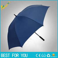 Wholesale Large Straight Handle Umbrellas - New hot Large men's golf gift umbrella straight business business clear umbrella creative long handle umbrella