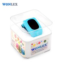 Wholesale french way - Wholesale- Wonlex 2016 New Smart Kids GPS Watch with GPS GSM Wifi Triple Positioning Monitoring Dual-way Call SOS Alarm Watch