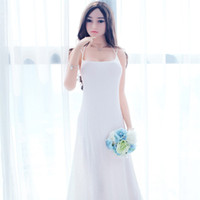 Wholesale Japanese Real Anal Sex - 165cm Top quality janpanese real doll, Half entity silicone sex doll inflatable love doll, oral vagina pussy anal adult dolls