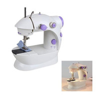 Wholesale Mini Electric Sewing Machine Manual - New Useful Multifunctional Electric Mini Sewing Machine Desktop With Led