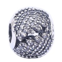 ingrosso fascino d'argento in argento sterling-Openwork Phoenix Feather Charm Beads Adatto Pandora Bracciali Leggi 925 Sterling Silver Angel Ala Bead Fai Da Te 2017 Estate Fine Jewelry HB316