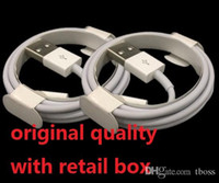 Wholesale Micro Usb Charger Wholesale - Micro USB Charger Cable Original Quality OEM 1M 3Ft 2M 6FT Sync Data Cable Cords With Retail Box For Phone Samsung S6 S7 Edge Note 4 5 6 7