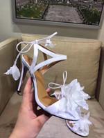 penas de flores para sapatos venda por atacado-Sandálias de penas sapatos de casamento flores Chinelo de praia Plana Flip Flops e Sapatos de Salto Alto Geléia Moda Feminina