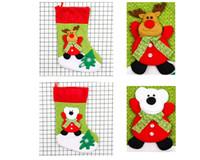 ingrosso ornamenti di baseball-Natale Bag Ornaments Paillettes ciondolo albero Impreziosito Natale Festival Calze di Natale Party Gift bag Candy Bag Calze di Natale