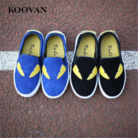 Monster Shoes Kid Lazy Shoe Meninas infantis Baby Fashion Shoe 2017 Koovan Soft Bottom Loafer Casual Shoes Non-Slip Para 1-12 anos de crianças W281