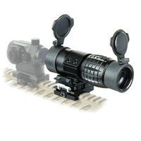 Tactical Aim Optic Sight 3X 4X Lupe Scope Kompakt Jagd Zielfernrohr Sights mit Fit für 20mm Gewehr Pistole Schiene Mount