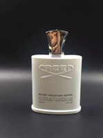 Wholesale Price Perfumes - High quality with good price perfumes cologne Creed sliver mountain water for men cologne 120ml with long lasting time good smell
