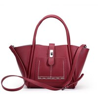 Wholesale Winter Leathers - New women leathers winter mother really leather bag fashion totes cowhide joker one shoulder bag his portable female bag lady bag