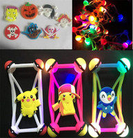 3D cartoon LED pára-choques luminosos puxão pikachu cobrir de silicone lâmpada LED casos de moldura para iphone 8 7 samsung s7 s8 christmas halloween