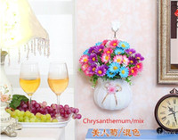Wholesale Artificial Chrysanthemums - Simulation artificial flowers suit sitting room adornment hanging laying flowers the indoor decoration household Artificial chrysanthemum