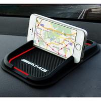 navigasyon aksesuarları toptan satış-Araç Telefonu Tutucu Navigasyon Braketi GPS destek Araba Aksesuarları Için Mercedes Benz AMG CLS GLK CLK E-Sınıfı C-Class Araba styling
