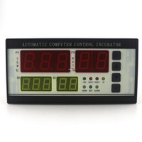 Wholesale Egg Incubator Temperature Controller - Freeshipping 220V Intelligent Digital Automatic Sensor Probe XM-18 Temperature and Humidity Controller Thermostat for Egg Incubator