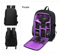 Alta qualidade impermeável DSLR Camera Mochila Removable Structure Pad para o Fashionable Journey Bag Fit Tripod System