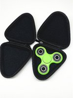 Wholesale 3 Types Fidget Spinner Pouch Hand Spinner Toys Storage Bags key phone cable USB CD card storage bag