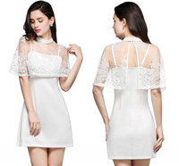 Wholesale Girls Short Jacket Designs - New White Spaghetti With Wrap Design A Line Homecoming Dresses 2018 Cheap Summer Hot Mini Short Cocktail Dresses Sweet Girls Gowns CPS652