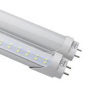 lâmpadas led g13 venda por atacado-4000 K 5000 K T8 G13 pinos Duplos Levou Tubo 4ft SMD2835 LED tubo fluorescente lâmpada 25 pçs / lote 28 W lados Duplos 2835 lâmpada Lâmpadas