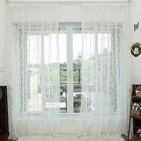 Wholesale Match Fixing - Window Treatments White Curtains Living Room Drapes Bedroom Study Room Easy Matching Polyester Curtain Drapes 42W 50W 72W 1 Panel