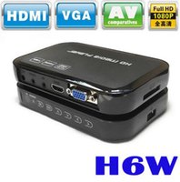 Supporto multimediale multimediale portatile Mini Full HD 1080p H6W supporta la porta host USB