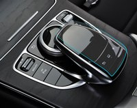 Wholesale Mouse Sticker - Dedicated to the new Mercedes-Benz C-class GLC GLE new E-level control mouse touch protective film mouse foil