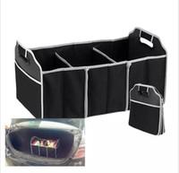 Wholesale Storage Boot Trunk Car - Collapsible Car Trunk Organizer Truck Cargo Portable Tools Folding storage Bag Case Space Saving Auto Boot Organizer