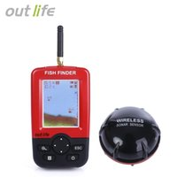 Wholesale Chinese Fish Finders - Outlife Smart Portable Fish Finder with Wireless Sonar Sensor