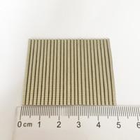 сильные магниты на редкоземельных магнитах оптовых-Мини маленький диск редкоземельный магнит из неодима супер сильного постоянного магнита Neo 1000шт / уп Dia2x1mm ремесленных крошечные магнитные mateirals