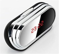 Wholesale motion detection clocks for sale - Group buy 32GB HD p Digital Alarm Clock Mini Camera Clock Security DVR Video Recorder Motion Detection Camcorder with Remote Control