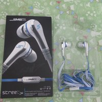 Wholesale Sms Volume - For Samsung Huawei Xiaomi Android Smart Phone IPhone 6 5 5C 5S 6S Fashion SMS 50cent headphones with Mic Volume Audio In-Ear Headset