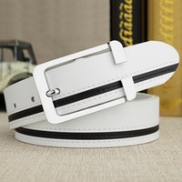Wholesale Sports Needle - 2017 New Good Quality Genuine Leather Men's Belt Sports Belt Casual Business Needle Buckle Leather Belt Genuine Leather New Arrival