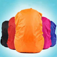 Wholesale Rain Cover Backpack - Wholesale-Backpack Rain Cover Shoulder Bag Waterproof Cover Outdoor Climbing Hiking Travel Kits Suit