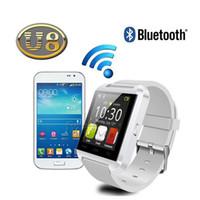 Wholesale drink watch for sale - Group buy Original Bluetooth U8 Smart Watch Barometer Drink Clock Sport Bracelet Waterproof Passometer Wristwatch For IOS Android Phone
