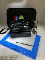 Wholesale Heater Water - Portable dab rig electric dab nail enail quartz & titanium nails domeless 16mm 20mm coil heater siclion mats glass water bong