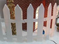 ingrosso artigianato decorazione giardino-Plastic Fence Garden Gnome Moss Terrariums Artigianato Albero di Natale Decorazioni per recinzioni Giardino Kawaii