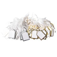 1000Pcs Label Tie String Strung For Jewelry Merchandise Display Price Tags Craft