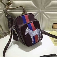 Wholesale Shool Bags - Brand real Genuine leather backpack N42703 shoulder bag handbag chapman dinos presbyopic package messenger zebra Shool bag purse cx#47