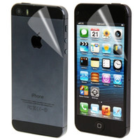 Wholesale Iphone Offers - Special Offer 2 in 1 (Front Screen + Back Cover) Mobile Phone Screen Protector Film for iPhone 5   5S