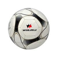 Wholesale Cheap Soccer Balls - Winmax Cheap PVC Soccer ball Football for soccer jersey Hot Sale Machine Stitched 2.0mm PVC Soccer Ball