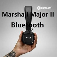 Wholesale Marshall Music - MARSHALL MAJOR II BLUETOOTH HEADPHONE wireless Bluetooth headset Music HIFI earphone