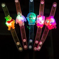 Wholesale Novelty Gifts Toys Glow - Light Up Toys Colorful Cartoon-Watch Doraemon Hello Kitty Movie Led Toys Novelty Cute Luminous Glowing Christmas Gift kids novelty toys