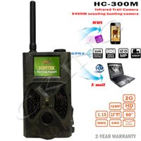 Wholesale Scouting Trail - Wholesale-Suntek HC300M Hunting Camera HC-300M Full HD 12MP 1080P Video Night Vision MMS GPRS Scouting Infrared Game Hunter Trail Camera