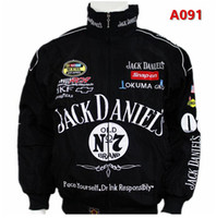 Wholesale moto gp jacket - Free shipping Black for Jack Daniel jacket men MOTO GP motorcycle auto f1 men man jackets coat