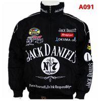 chaquetas de moto gratis al por mayor-Envío gratis Negro para Jack Daniel chaqueta hombres MOTO GP motocicleta auto f1 hombre hombre chaquetas abrigo