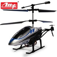 Wholesale Toy Helicopter Design - Wholesale- Attop Children RC Electric Toy Helicopter Quadcopter YD-927 3CH GYRO Remote Control Plane Cool Design Shatter Resistant #D