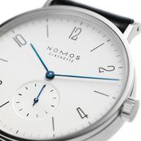 uhren-designs großhandel-Großhandels- Frauen-Uhr-Marke NOMOS Männer und Frauen Minimalistischer Entwurf Lederband Frauen-Art- und Weiseeinfache Quarz-Wasser-beständige Uhren