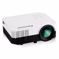 Wholesale ypbpr usb - Wholesale-2016 Excelvan 2018 Portable Home Mini Projector 1200 lumens with Input AV HDMI USB SD YPbPr 3.5mm Audio in DVB-T2 LED Proyector