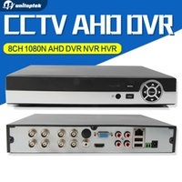 Wholesale 8ch Hvr - 8CH 1080N AHD DVR NVR HVR For HD CCTV Analog Network Security Camera Support P2P Cloud HDMI VGA Output XMEye Onvif CCTV System