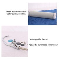Wholesale Carbon Elements - Household water purifier tap Tri-tap +compressed activated carbon water Filter element, remove the odor can be purchased separately